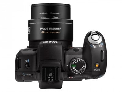 Cámara de fotos Canon SX10is