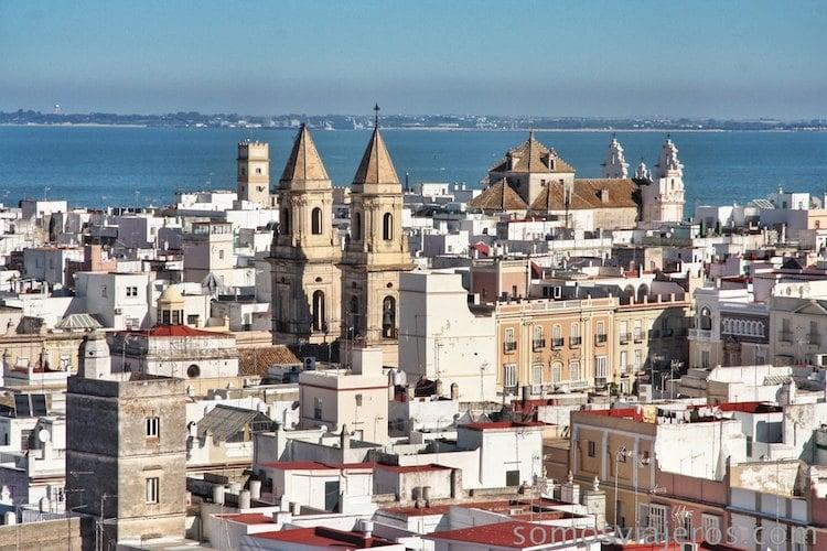 perspectiva de Cádiz