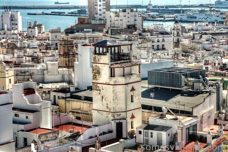 torres mirador de Cádiz