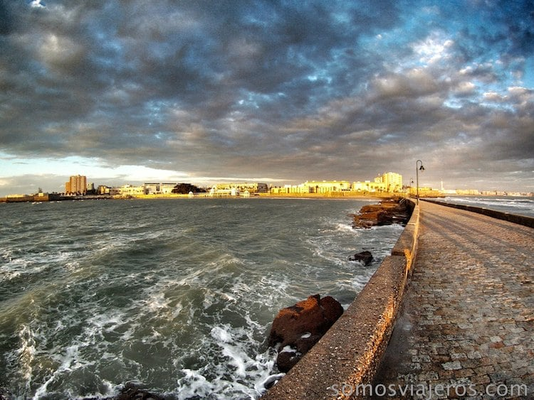 atardecer en Cádiz