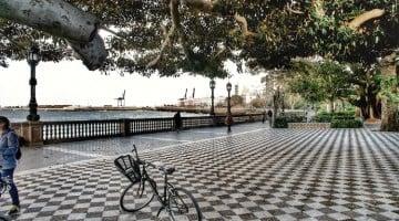 Cádiz por tierra, mar y aire