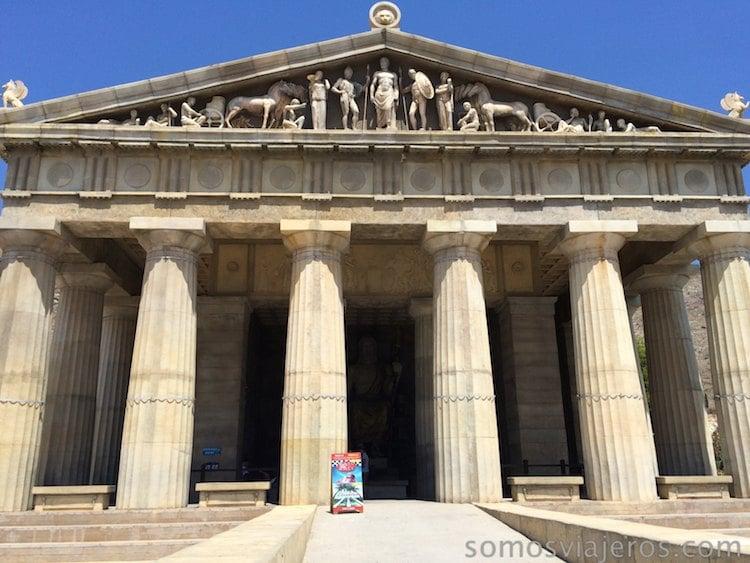 Edificio de Grecia en Terra Mítica