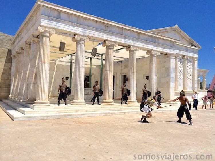 Actuación en Grecia