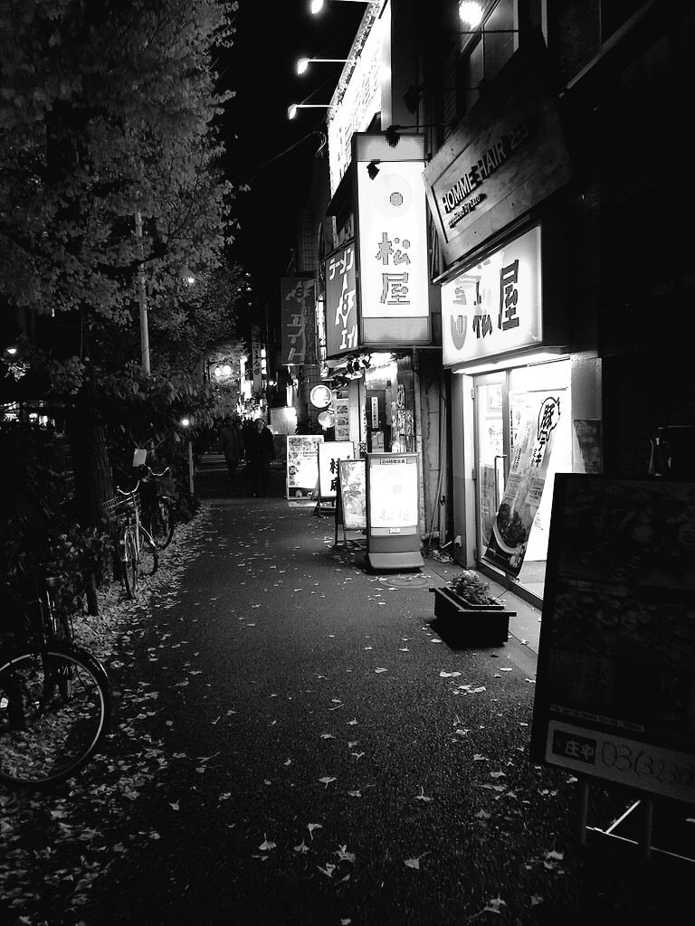 """Tokyo """"in the night"""""""