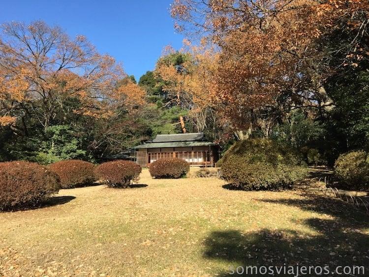 jardines en Tokio