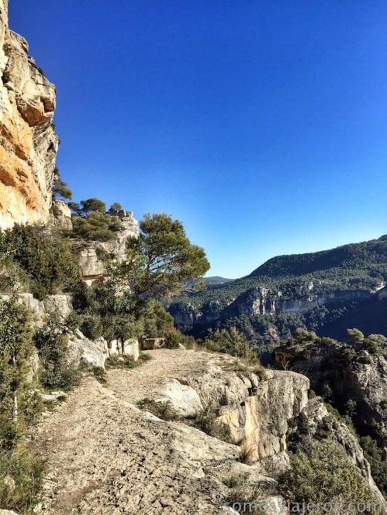 Sendero de escaladores
