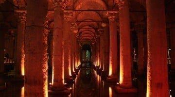La basílica cisterna de Estambul