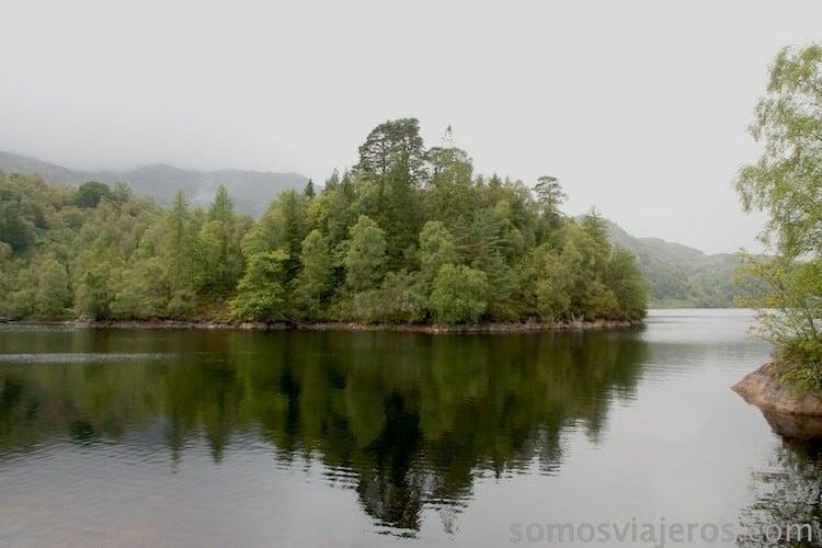 vistas del lago katrine