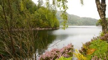 El lago Katrine en nuestra Escocia en autocaravana. Parte 1