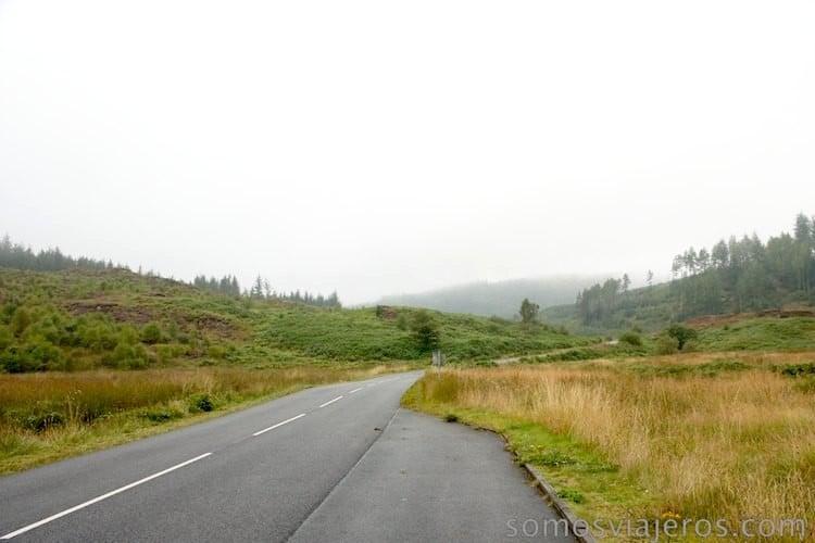 carretera de Esocia