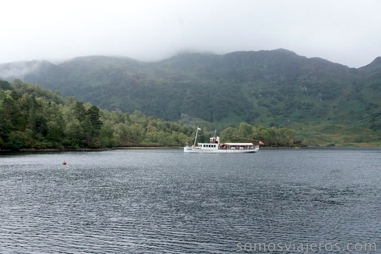 barco lago katrine