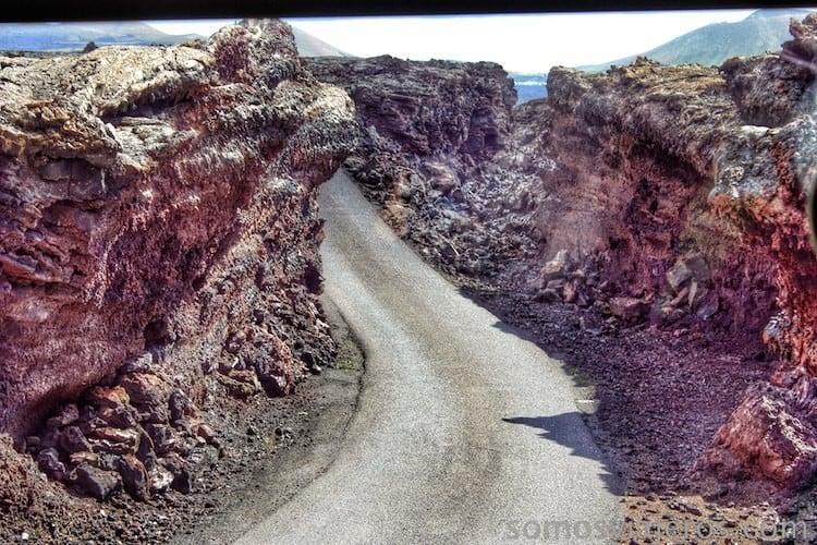 carretera timanafaya
