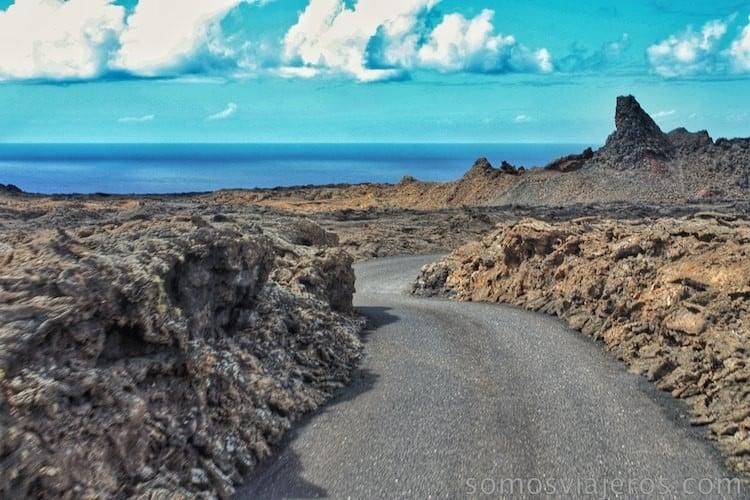 paisaje de timanfaya