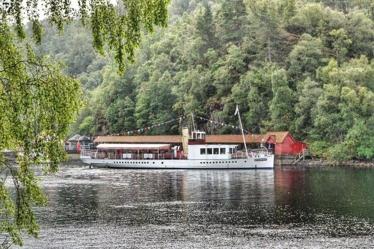 el barco de vapor