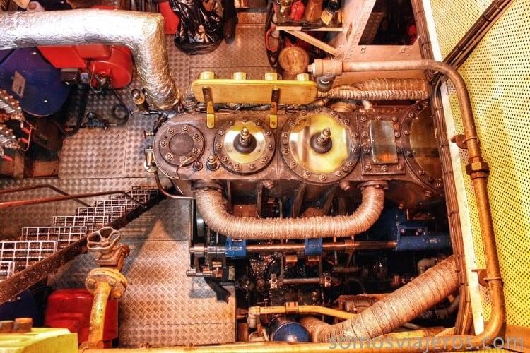 Motor del SS Walter Scott