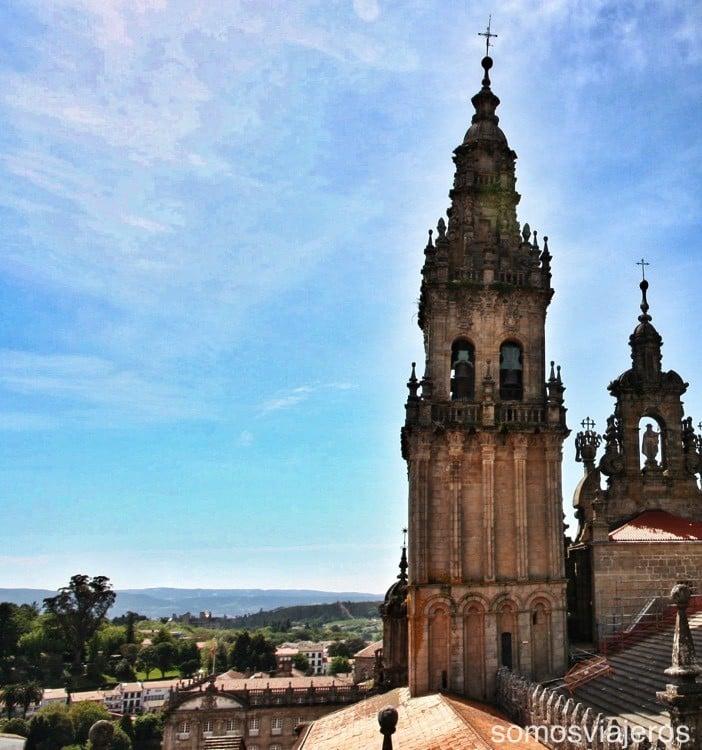 Catedral de Santiago con niños 04