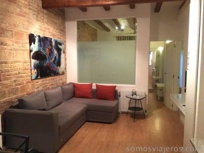 interior de apartamento en Barcelona