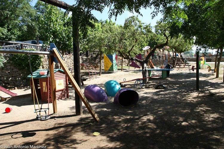 zona de juegos para los niños