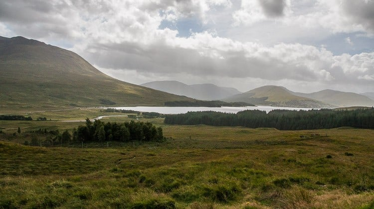 Escocia con niños: De camino a glencoe en las tierras altas en autocaravana