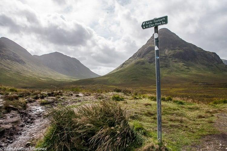 paisajes de Escocia Fort Williams y Glencoe