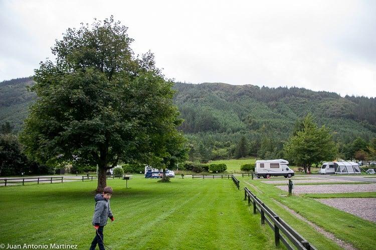Glen Nevis Holidays Camping