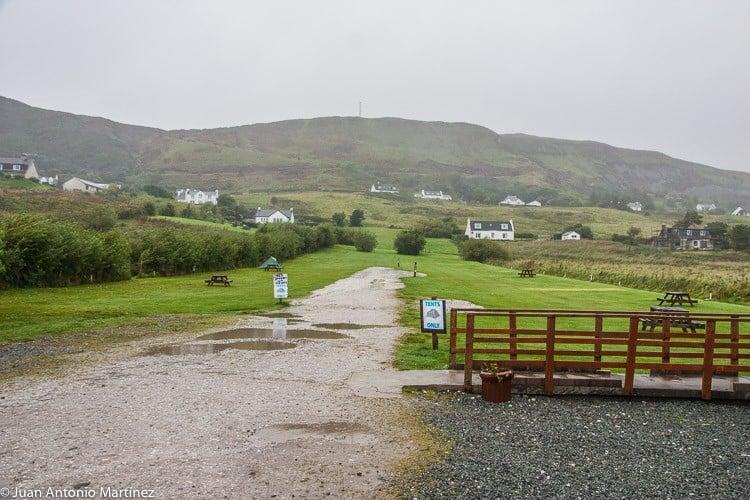 camping isla de Skye