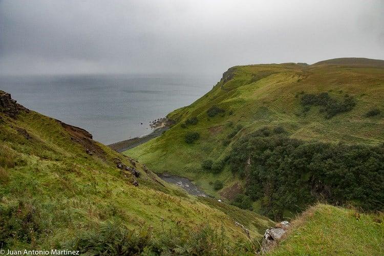 kilt rock. Isla de Skye