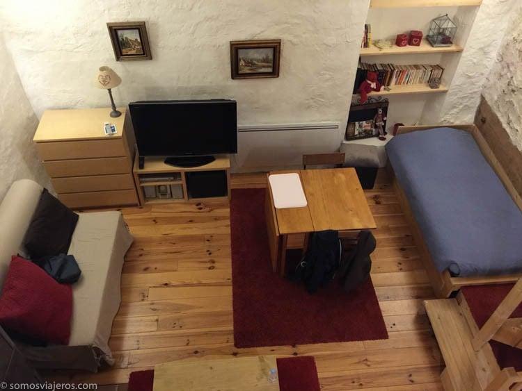 Sala de estar casa rural París - Alojamiento en París y Eurodisney