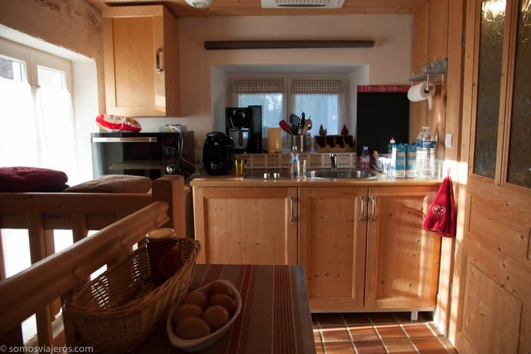 Cocina equipada casa rural París - Alojamiento en París y Eurodisney