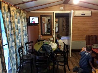 Hotel Davy Crockett salón cocina