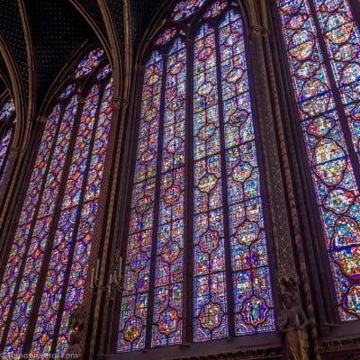 Sainte Chapelle vidrieras