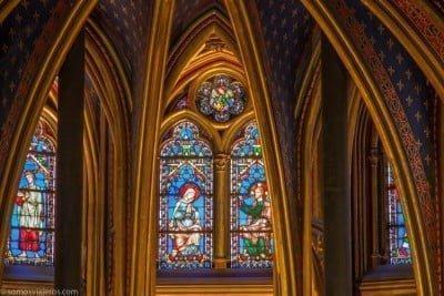 Sainte Chapelle columnas planta baja