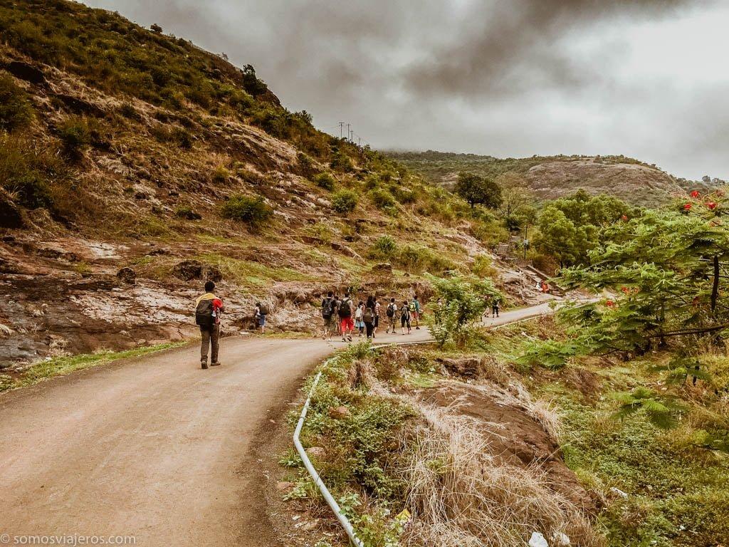 Cuevas de Bhaja en India-2