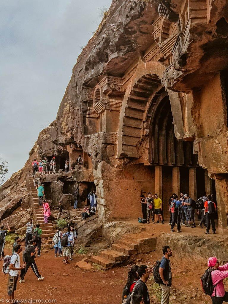 Cuevas de Bhaja en India-7
