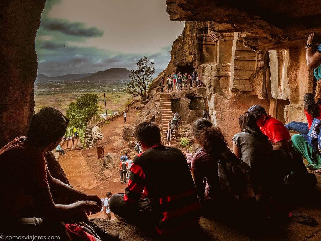 Cuevas de Bhaja en India-8