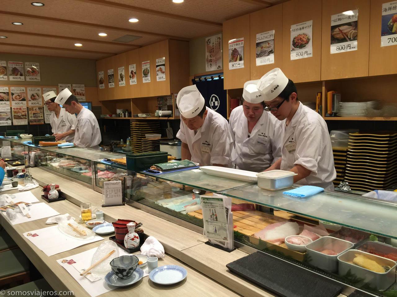 El mejor shushi de Tokyo-2