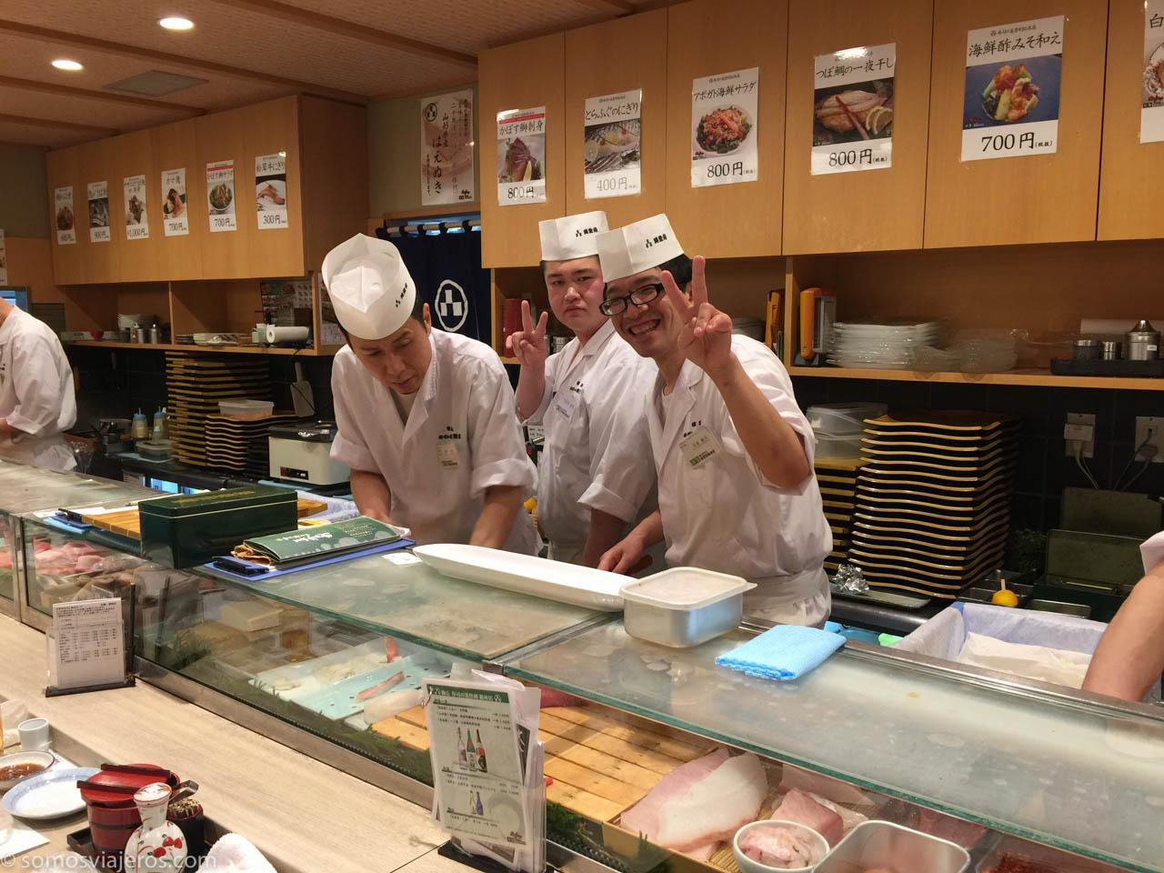 El mejor shushi de Tokyo-3