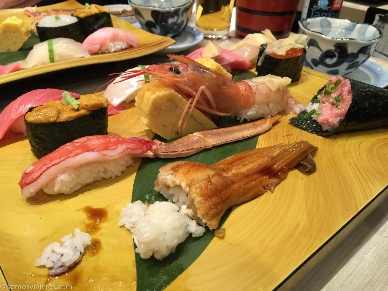 El mejor shushi de Tokyo-7