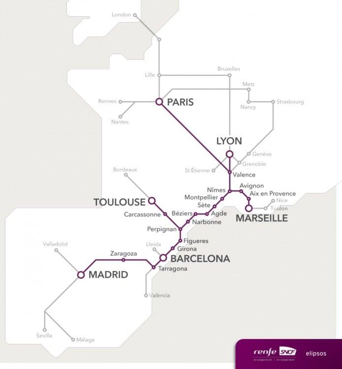 conexiones Renfe-SNCF