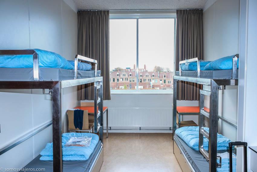 Alojamiento en Amsterdam con niños - habitación hotel Amsterdam