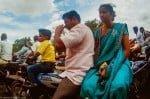 Fotografías con historia. Transporte familiar en India