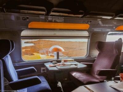 interior tren Renfe-SNCF