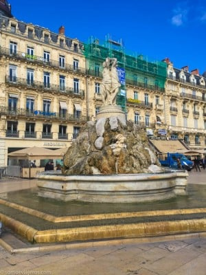 Estatua de las 3 gracias Montpellier