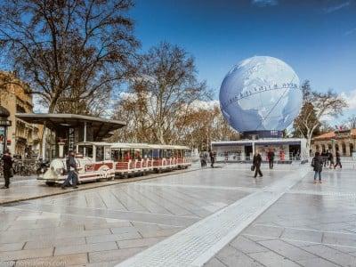 Tren turístico Montpellier