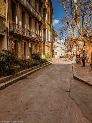 Calle peatonal centro Montpellier