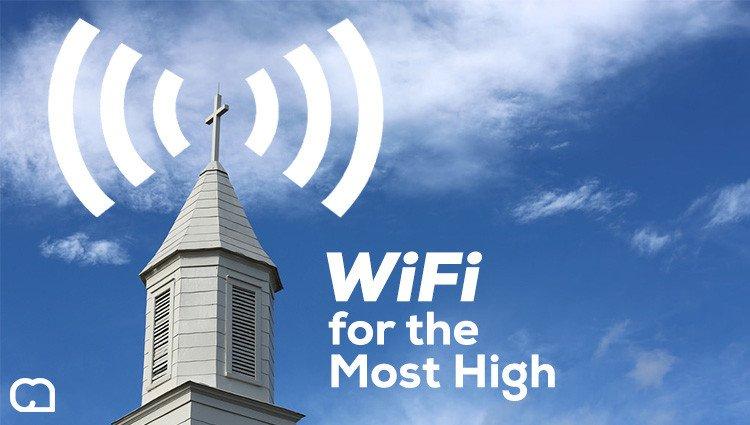 wifi gratis en las iglesias