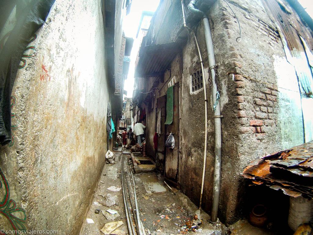 primeras calles en Dharavi