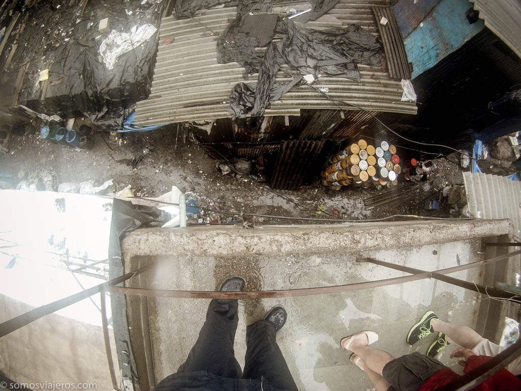 plastic yard en Dharavi