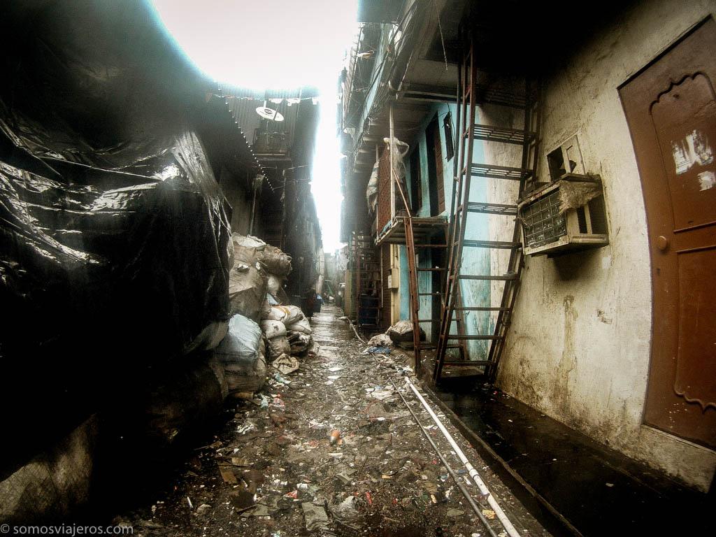 Calles de Dharavi