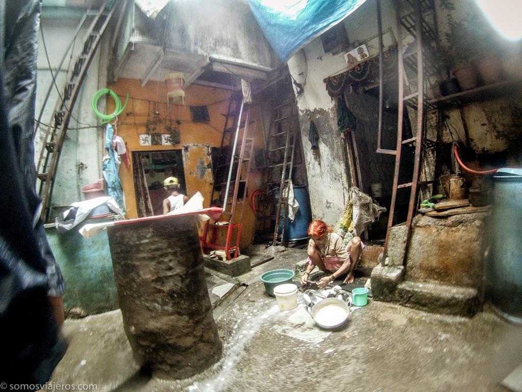 Patios de casas o almacenes